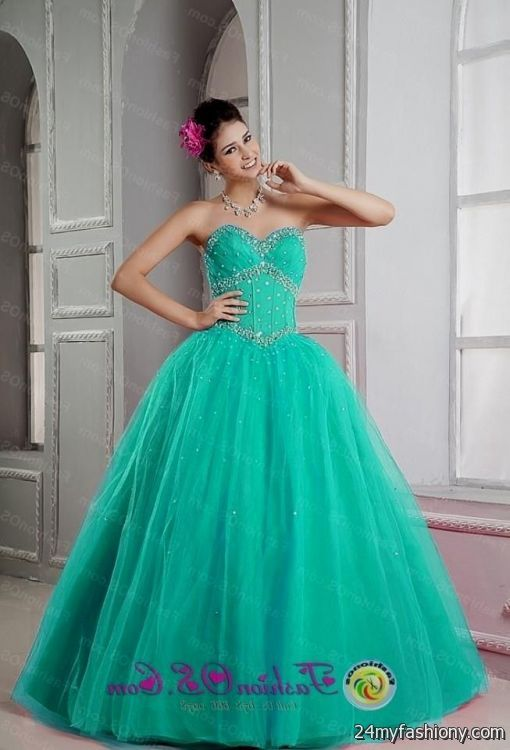 turquoise sweet 16 dresses 20162017 b2b fashion