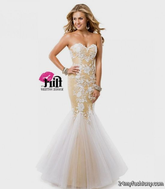 white and gold prom dresses 2016-2017 » B2B Fashion