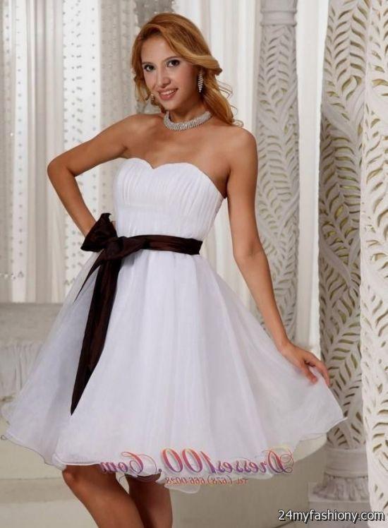 White Dama Dresses