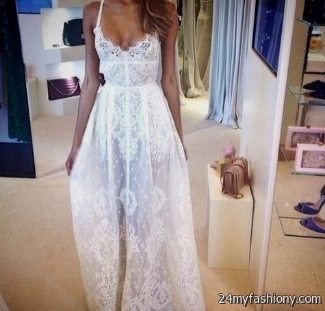 White Boho Dress Tumblr Looks B2b Fashion