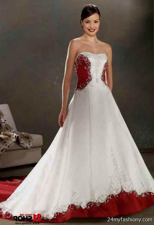 white red and black wedding dresses 2016-2017 | B2B Fashion