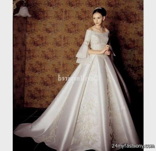 White victorian wedding dress 2016 2017 b2b fashion for Victorian style wedding dress