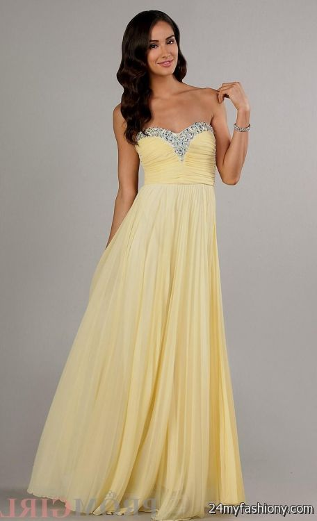 Yellow Prom Dresses 2017 - Boutique Prom Dresses