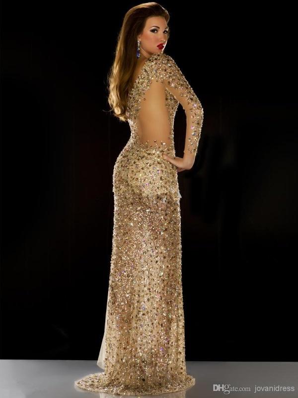 eecfca1ed72 Plus size gold sequin dress looks
