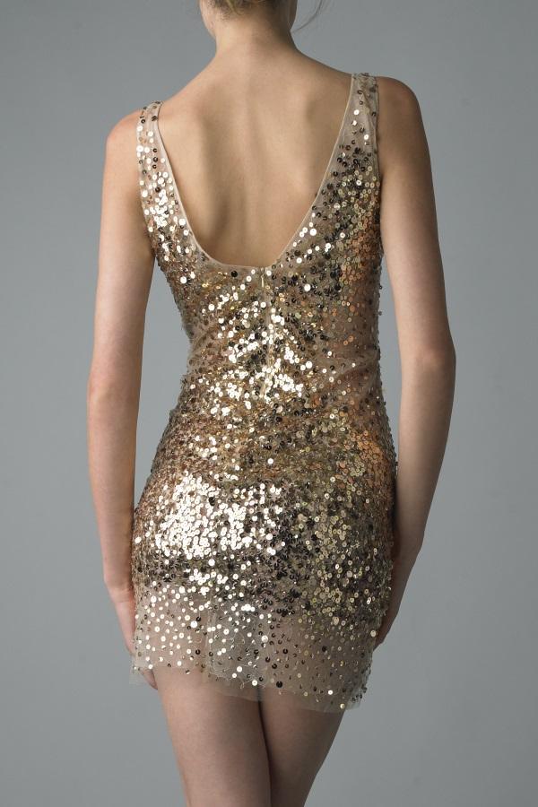 Plus Size Gold Sequin Dress 2016 2017 B2b Fashion