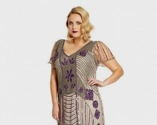 09e11c1f898 You can share these 1920s inspired dresses plus size on Facebook