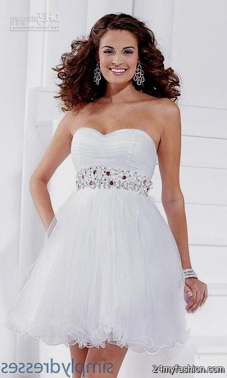 e421679a6fb You can share these 8th grade graduation dresses with straps on Facebook