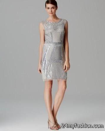Aidan Mattox Sequin Evening Dress – Dresses for Woman
