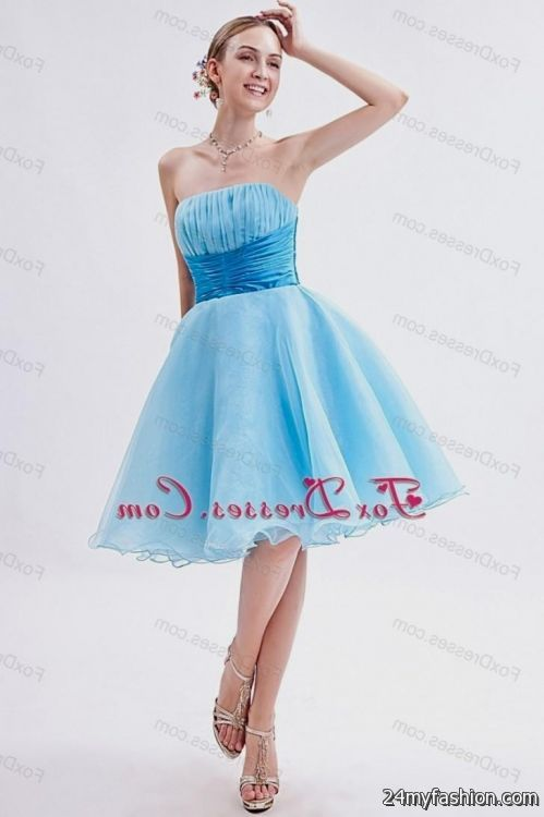 baby blue short prom dresses 2014 2016-2017 » B2B Fashion