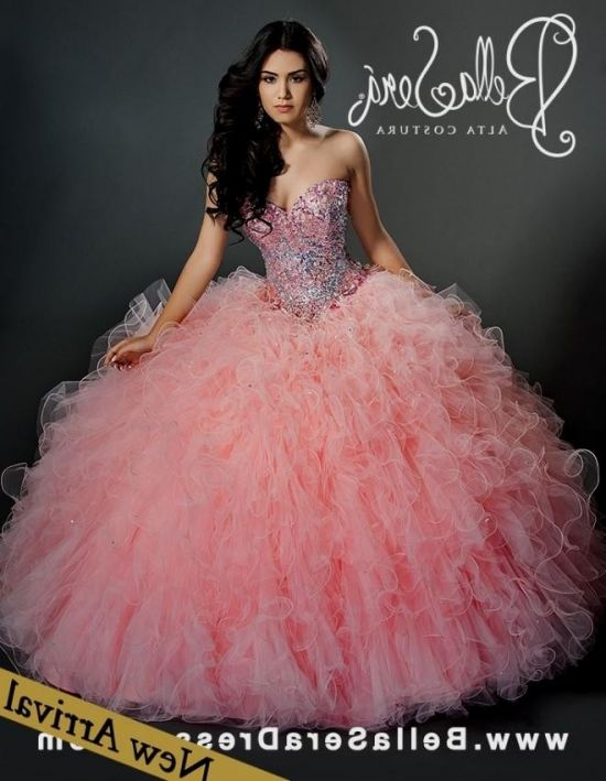 baby pink quinceanera dresses 20162017 b2b fashion