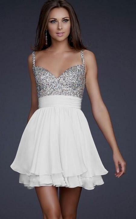 Bachelorette Party Dresses White Looks B2b Fashion