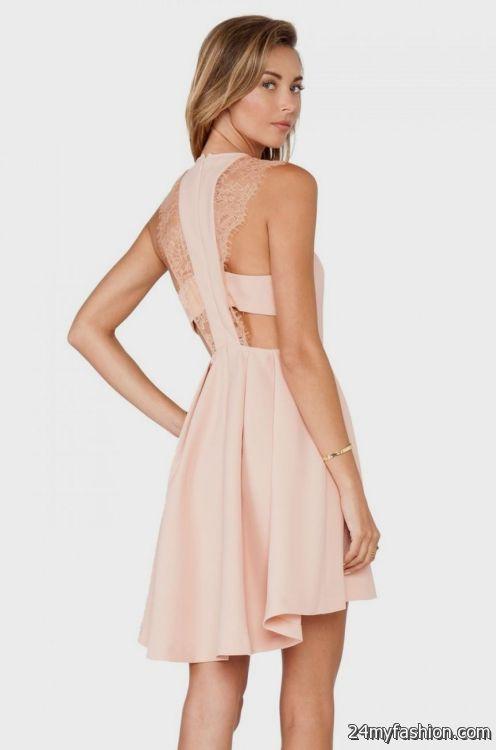 bcbg blush lace dress 2016-2017   B2B Fashion
