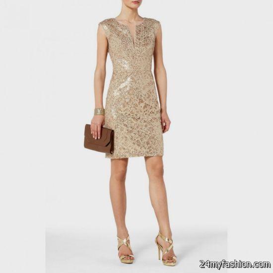 Bcbg Gold Tail Dress 2016 2017