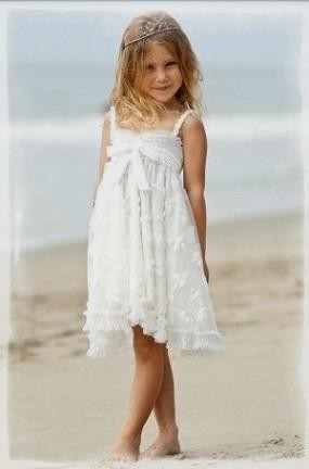 Flower Girl Dress Beach Wedding - Ocodea.com