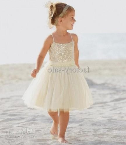 Fashion dresses collection 2017 all dress for Beach wedding flower girl dresses