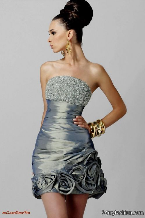 Beautiful short evening dresses