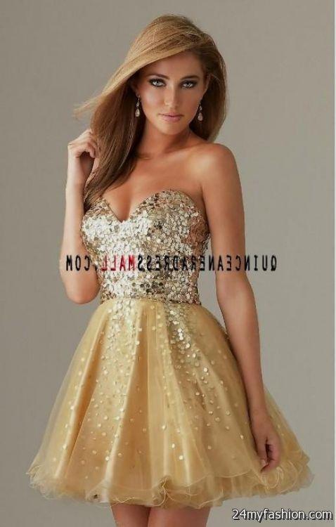 Black And Gold Dama Dresses Looks B2b Fashion