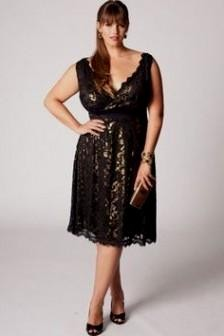 09bb7a7e44267 On-trend plus size dresses for going out, to wear to work, or just hanging  out. You can share these black and gold party ...