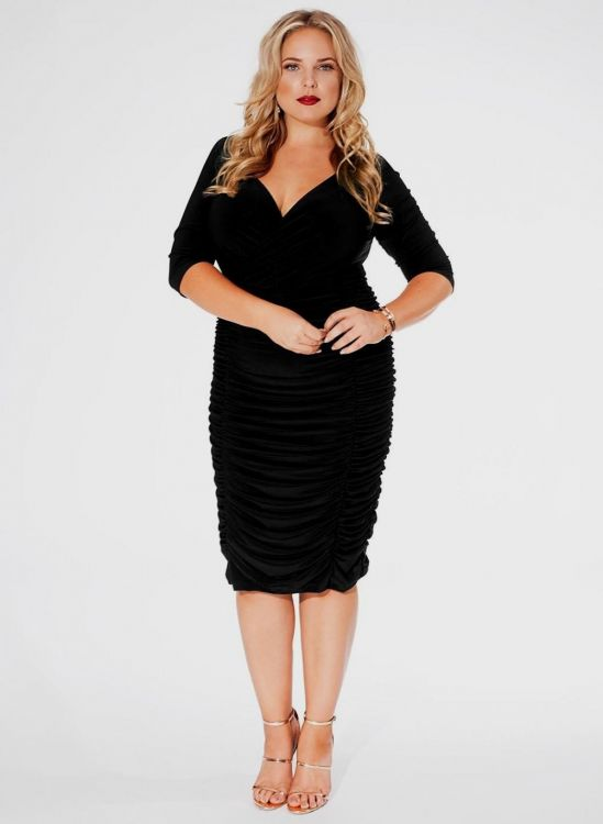 black and gold party dress plus size 2016-2017 » B2B Fashion