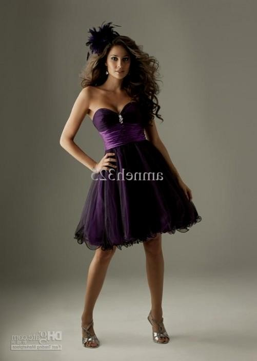Black And Purple Bridesmaid Dresses 2016 2017 B2b Fashion