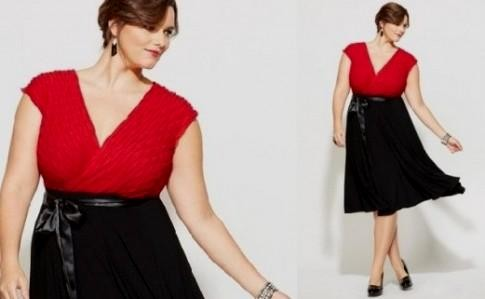 black and red dresses plus size looks | B2B Fashion