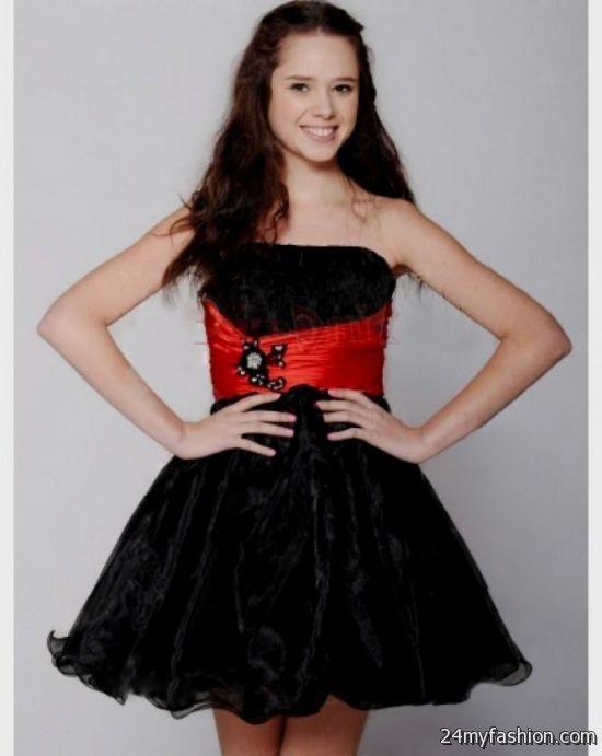 black and red short prom dresses 2016-2017 » B2B Fashion