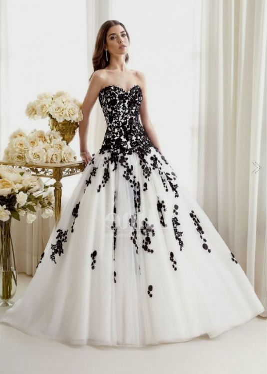 black and white ball gown 2016-2017 » B2B Fashion