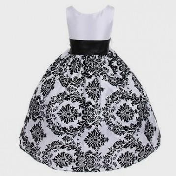 Black And White Dresses For Kids Looks B2b Fashion