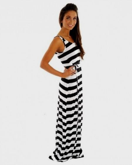 Black And White Striped Maxi Dress Target 2016 2017 B2b