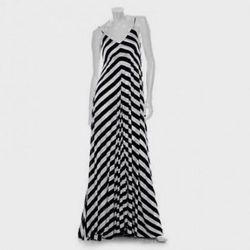 Black And White Striped Maxi Dress Target Looks B2b Fashion
