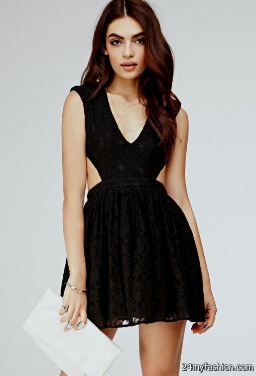 black dress forever 21 2016-2017 | B2B Fashion