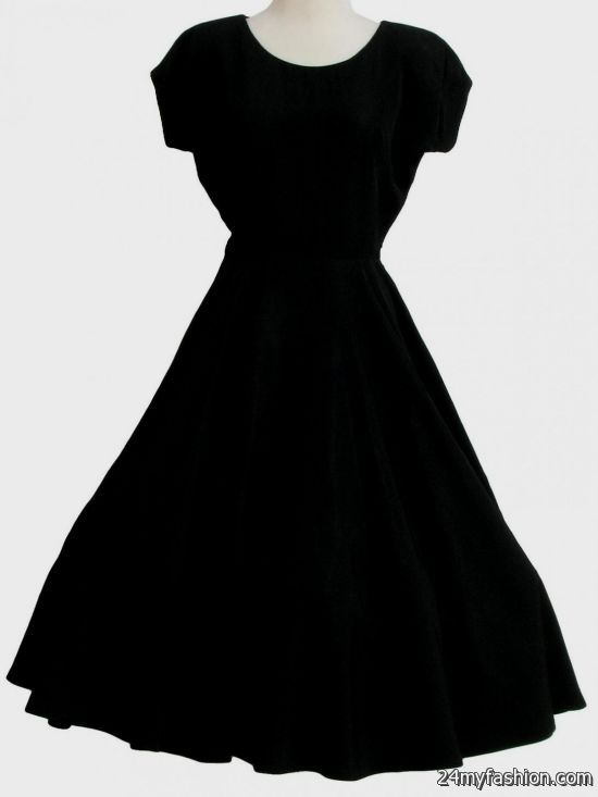 Black dresses for juniors with sleeves 2017