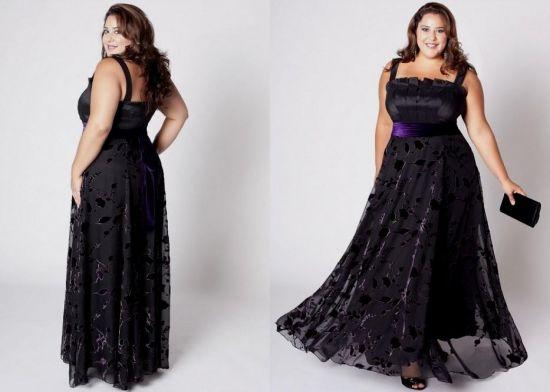 black evening gown plus size 2016-2017 | B2B Fashion