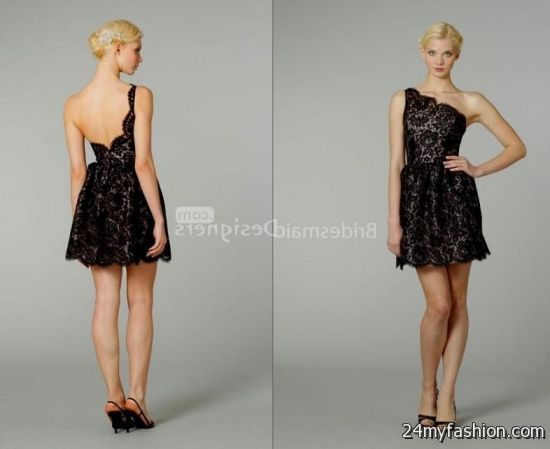 Y Dress Outlet Provides A Huge Variety Of And Dresses At Low Prices You Can Share These Black Lace Bridesmaid Short