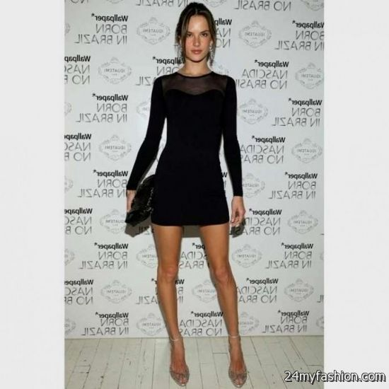 Black Long Sleeve Mini Dress Forever 21 2016 2017 B2b Fashion