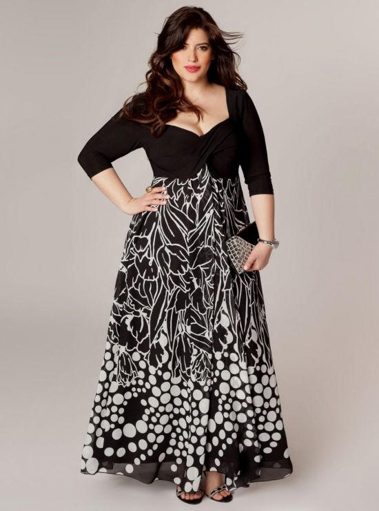 black maxi dress outfits plus size 20162017 b2b fashion