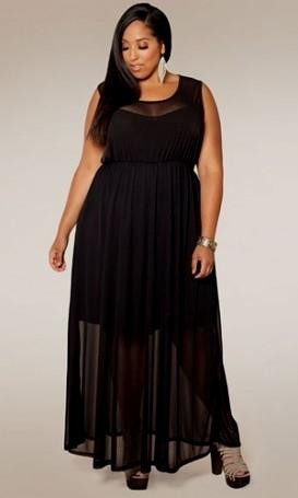 black maxi dress outfits plus size 2016-2017 » B2B Fashion