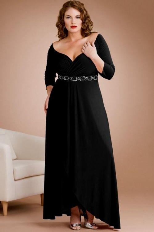 black prom dresses long plus size looks | B2B Fashion