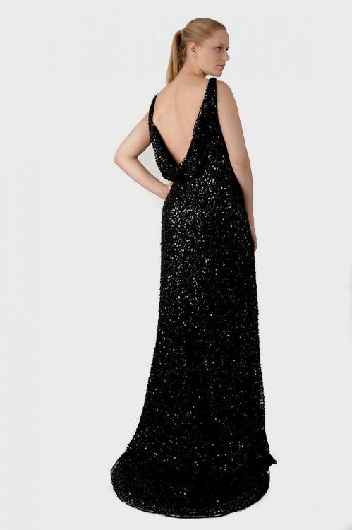 Black Sequin Dress Plus Size 2016 2017