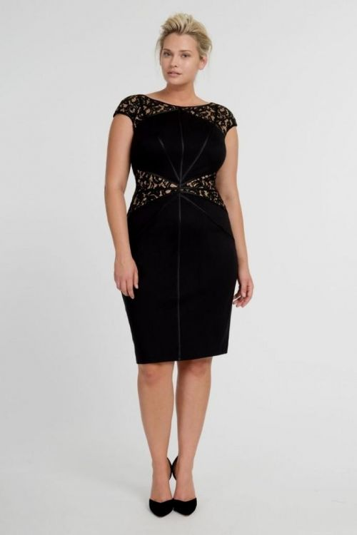 Black Sheath Dress Plus Size 2016 2017