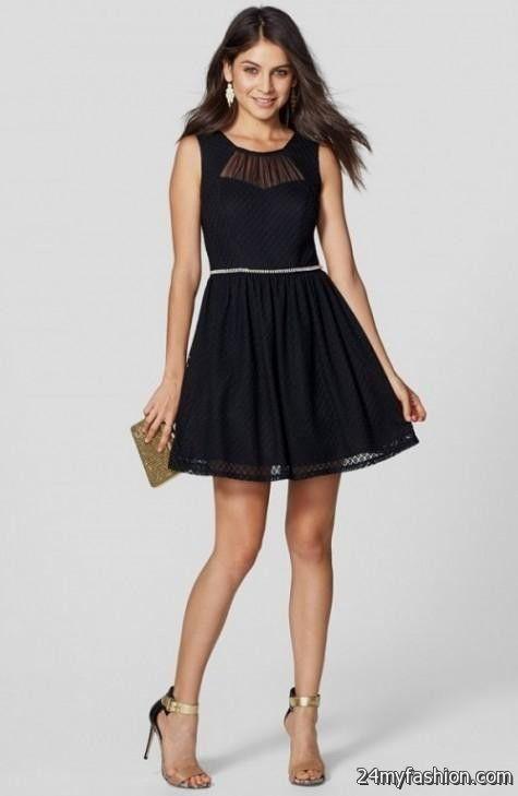 black skater dress for juniors 20162017 b2b fashion