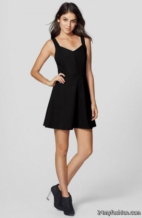 black skater dress for juniors 2016-2017 » B2B Fashion