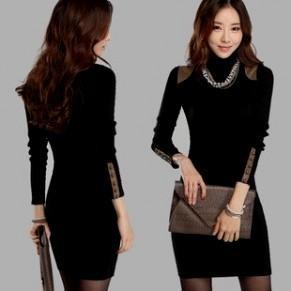 Black Sweater Dresses For Women Looks B2b Fashion