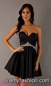 Black Sweet 16 Court Dresses Looks B2b Fashion