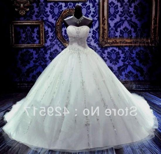 Blinged Out Plus Size Wedding Dresses Looks B2b Fashion