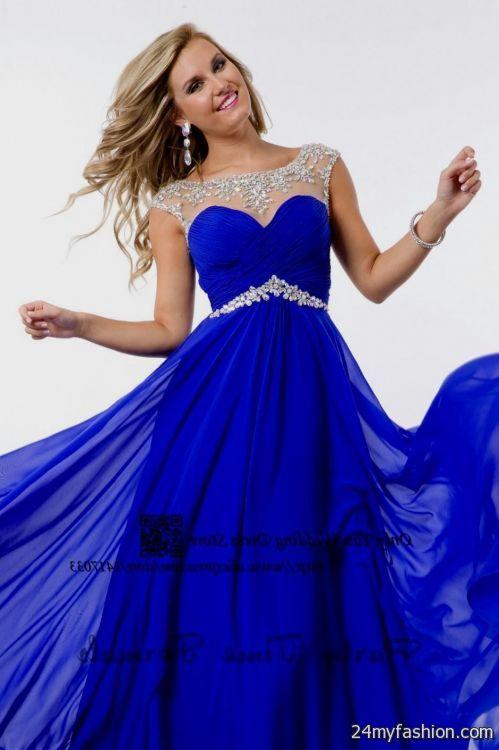 blue and white prom dresses 2016-2017 » B2B Fashion