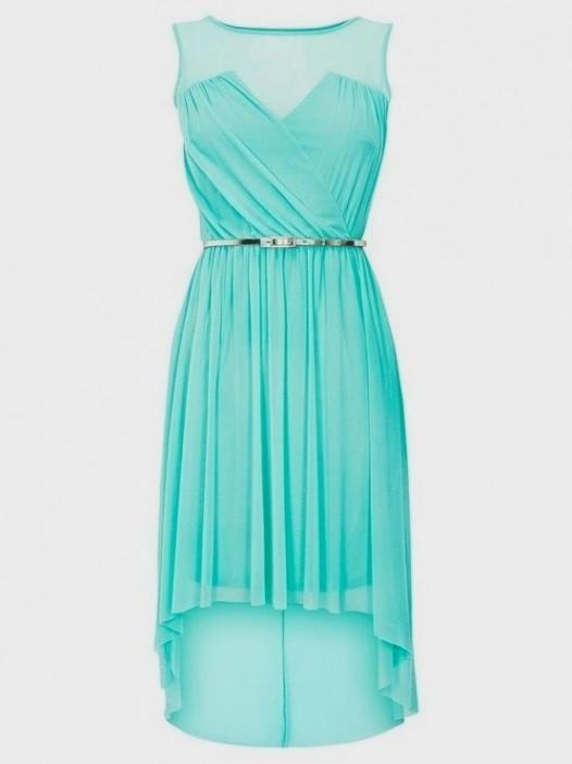 Cute blue prom dresses