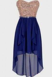blue high low dresses for teenagers 20162017 b2b fashion