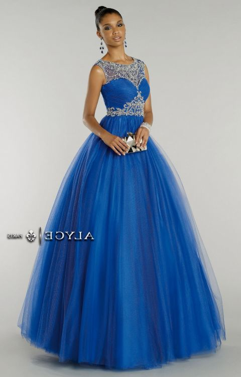 Blue Plus Size Prom Dresses Homecoming Party Dresses