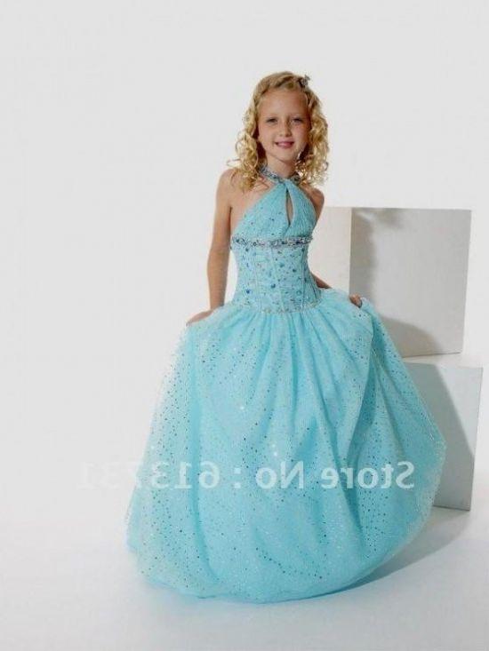 blue prom dresses for kids looks